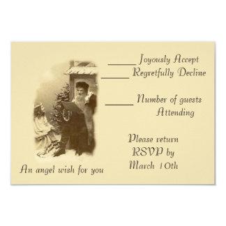 Deseo del ángel invitacion personal