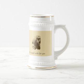 Deseo del ángel taza de café