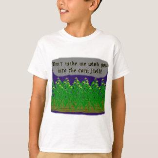 Deseo del campo de maíz camisas