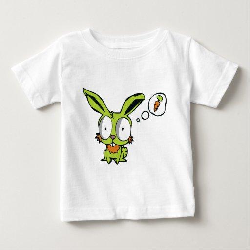 Deseo del conejo playera para bebé