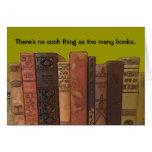 deseo del cumpleaños de los lectores tarjeta pequeña