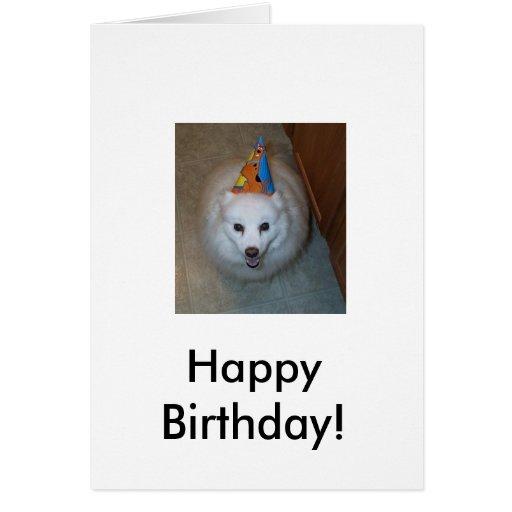 Deseo del cumpleaños de Sonny Tarjeta