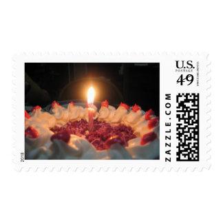 Deseo del cumpleaños franqueo