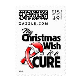 Deseo del navidad del VIH del SIDA mi es una Sello
