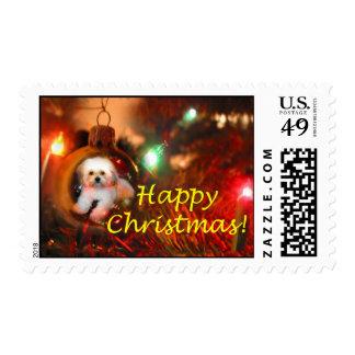 Deseo del navidad sello
