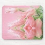 Deseo del tulipán alfombrilla de ratones