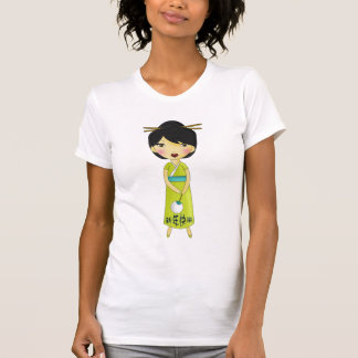 Deseo dulce de los Años Nuevos de los chicas Camisetas