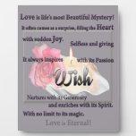 ¡Deseo! ¡El amor es hermoso y eterno! Placas Con Foto