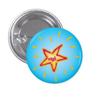 Deseo en un botón de la estrella pins