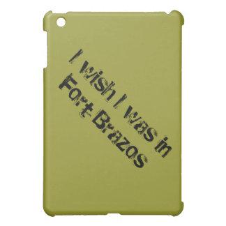 Deseo que estuviera en el fuerte Brazos iPad Mini Carcasa