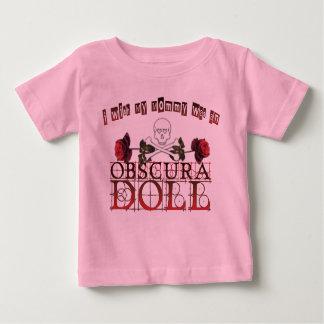Deseo que mi mamá fuera una camiseta del bebé de