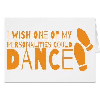 ¡Deseo que una de mis personalidades podría Tarjetas