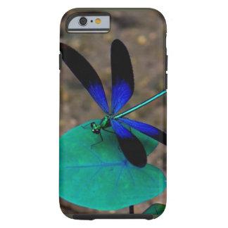 Deseo sobre un caso del iPhone 6 de la libélula Funda De iPhone 6 Tough
