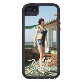 Deseo usted estaba aquí belleza iPhone 5 funda