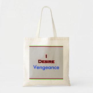 Deseo venganza bolsa tela barata