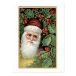 Deseos cariñosos del navidad tarjeta postal