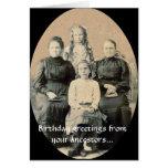 Deseos de BD de sus antepasados Tarjeta