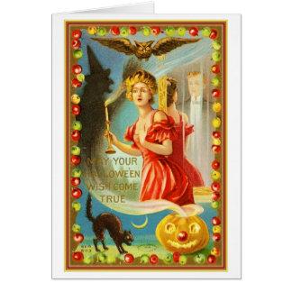 Deseos de Halloween Felicitación