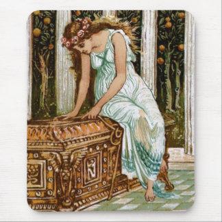 Deseos de Pandora de abrir la caja Alfombrilla De Ratón