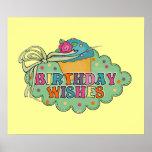Deseos del cumpleaños impresiones