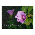 Deseos del cumpleaños tarjeta