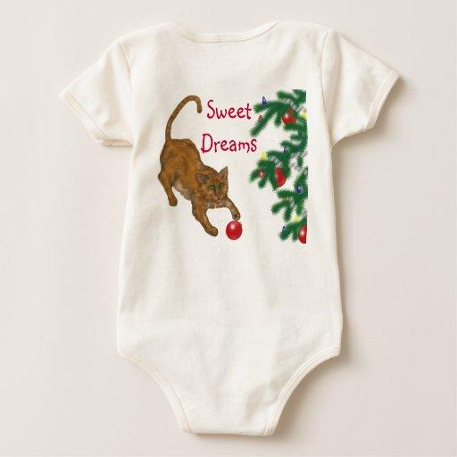 Deseos del día de fiesta del bebé traje de bebé