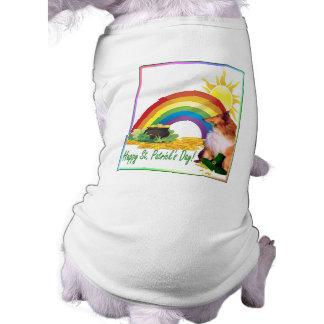 Deseos del día de St Patrick impresionante del col Ropa Para Mascota