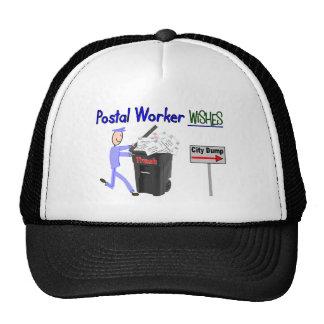 Deseos del empleado de correos--Divertido Gorro De Camionero