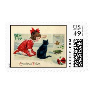 Deseos del navidad del Victorian MED
