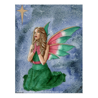 Deseos del navidad por el amanecer Obrecht Tarjetas Postales