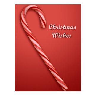 Deseos del navidad postal