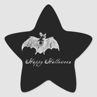 Deseos del palo de vampiro pegatina en forma de estrella