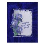 Deseos magníficos del día de madres de los flores tarjetas postales