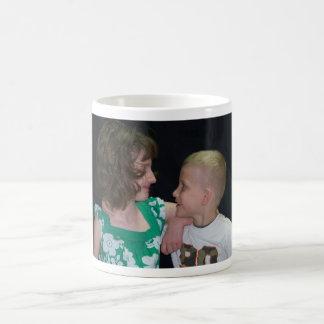 deserai & caleb classic white coffee mug