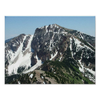 Deseret Peak - 11,031 feet; Stansbury Mountains Posters