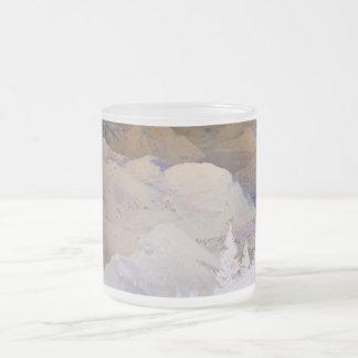 Desert© 10 Oz Frosted Glass Coffee Mug