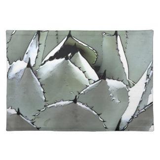 Desert Agave, placemat Cloth Place Mat