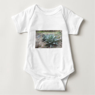 Desert Agave Plants Baby Bodysuit
