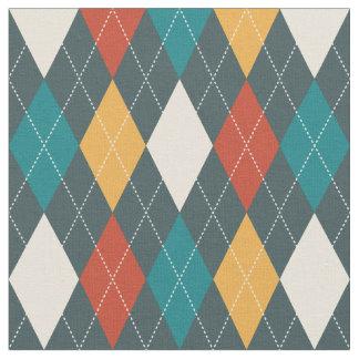 Desert Argyle Fabric