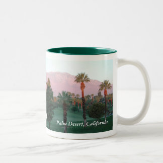 Desert at Sunset Mug