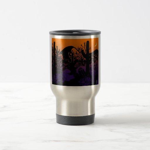 desert beauty 15 oz stainless steel travel mug