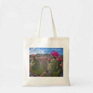 Desert beauty canvas bag