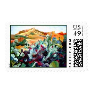 Desert Beauty Postage