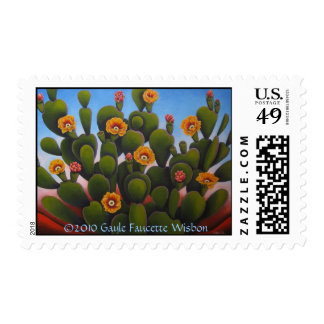 Desert Beauty Postage Stamp