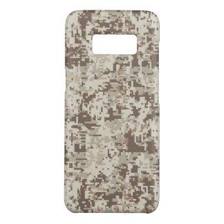 Desert Beige Digital Camouflage Decor on a Case-Mate Samsung Galaxy S8 Case