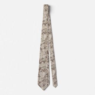 Desert Beige Style Digital Camouflage Tie