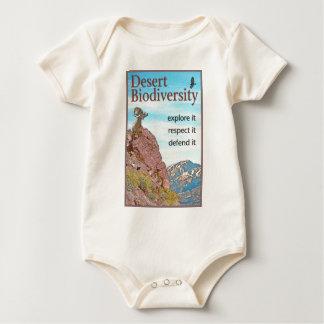 Desert Biodiversity Baby Bodysuit