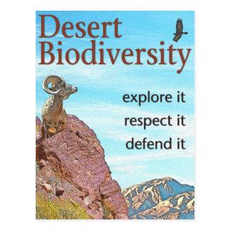 Desert Biodiversity Postcard