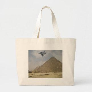 DESERT BIRD LARGE TOTE BAG