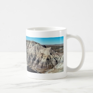 Desert Blue Mesa Badlands Mountains